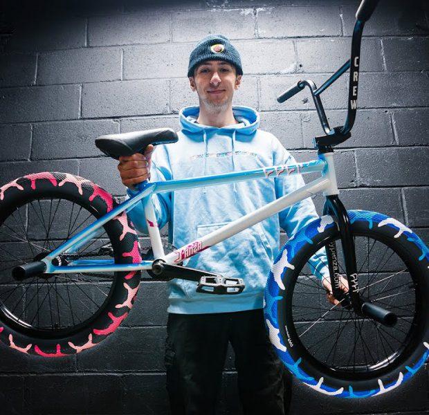 Panza Builds The Craziest Looking BMX Bike!