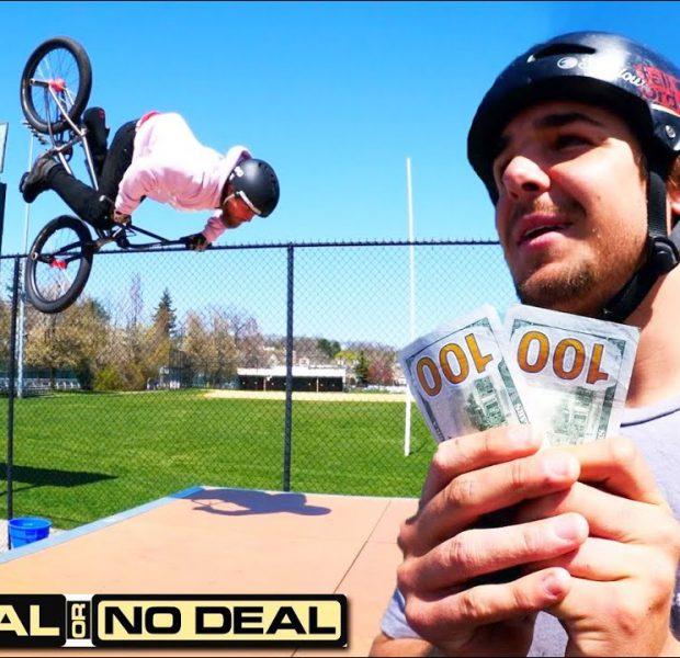 Tricks For Cash! | Deal Or No Deal BMX Challenge