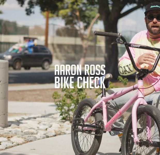 AARON ROSS | Sunday Bikes – Nightshift Bike Check | BMX