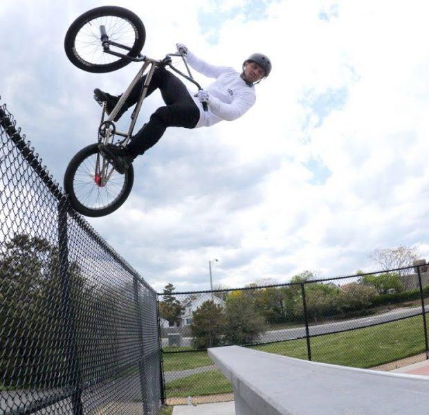 Cory Berglar's Insane Fence Fufanu!