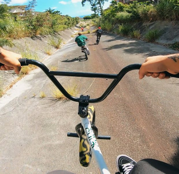 EXPLORING THE STREETS OF HONOLULU HAWAII (BMX)