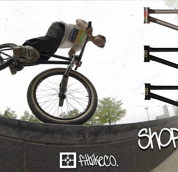 FITBIKECO. – DAMIAN CESPEDES ON THE SHORTCUT FRAME