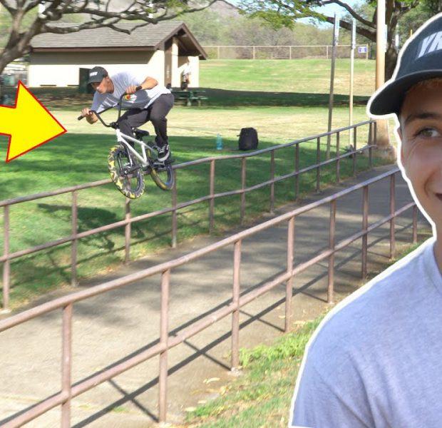 Grinding The Longest Handrail In Hawaii!