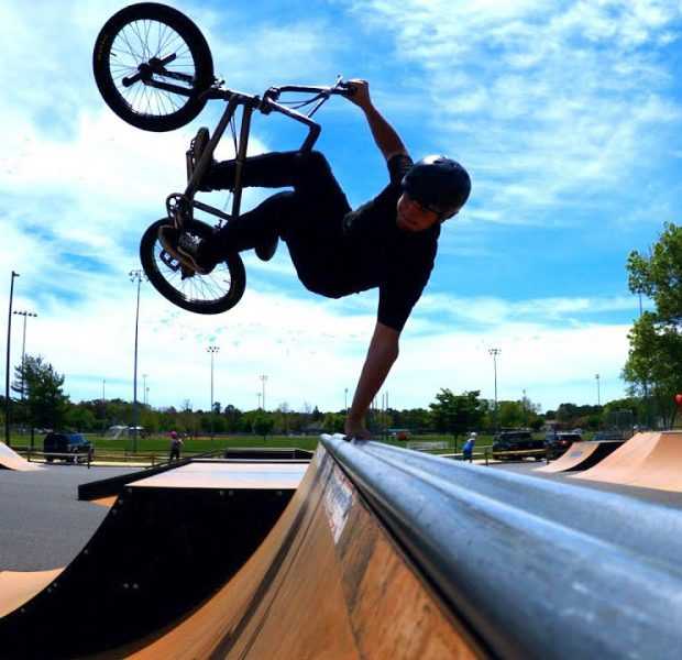 Matty's New Favorite Trick Over The Spine!