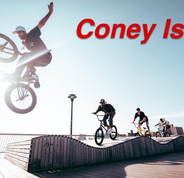 Riding BMX at NYC's Best Beach