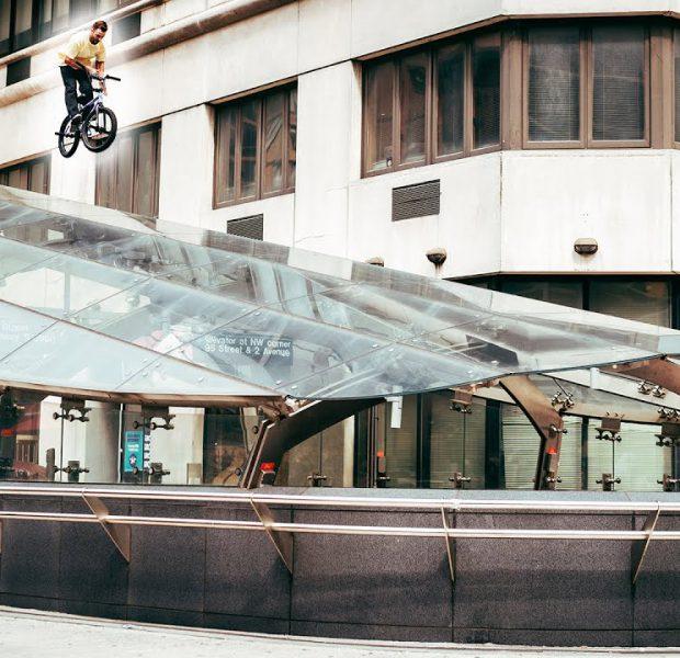 Riding BMX in Harlem (NYC)