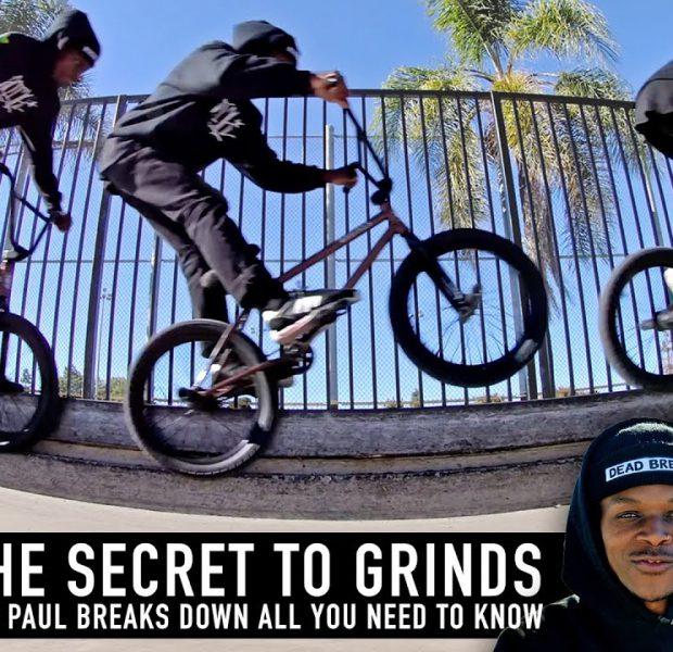 THE SECRET TO GRINDS – BMX BASICS – DEMARCUS PAUL
