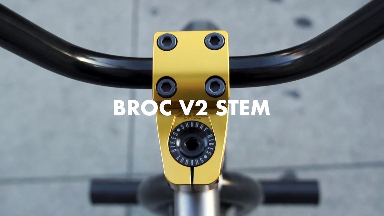 BROC-RAIFORD-Odyssey-BMX-Gold-BROC-v2-Stem-Available-Now