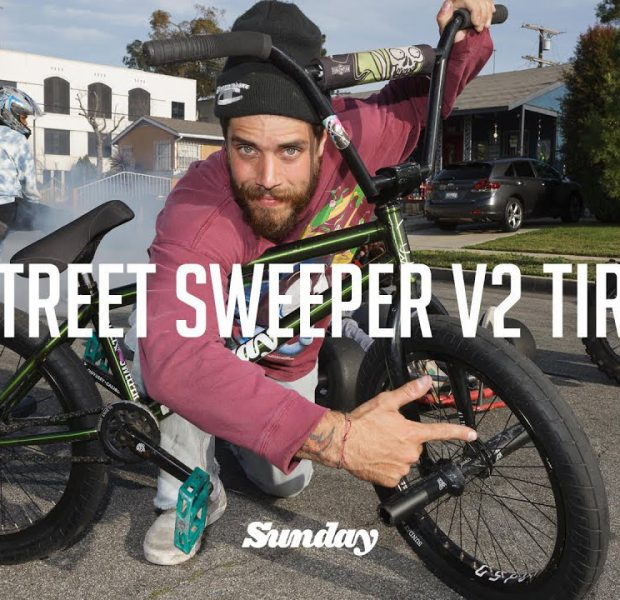 JAKE SEELEY – STREET SWEEPER V2 TIRE   Sunday Bikes   BMX