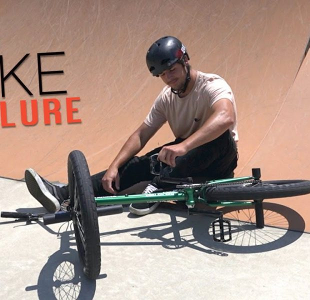 Matty's New Bike Failed At The Skatepark!