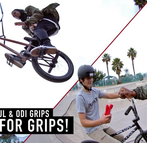 TRICKS FOR GRIPS – DEMARCUS PAUL & ODI GRIPS