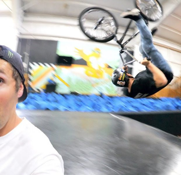 The Impossible Front Flip Challenge With Spencer!