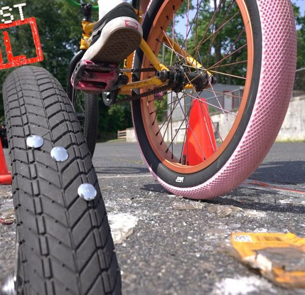 The Official BMX Tire Puncture Test! *See Which Tire Holds Up The Best*