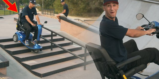 Mobility-Scootering-In-The-Skatepark